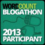 2013 Wordcount Blogathon Participant Badge